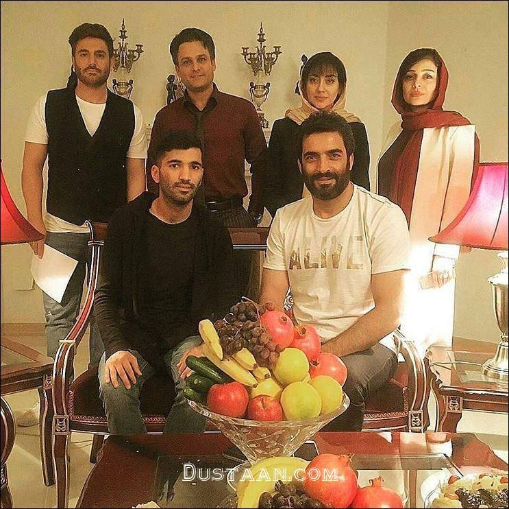 www.dustaan.com محسن مسلمان به همراه بازیگران عاشقانه! +عکس