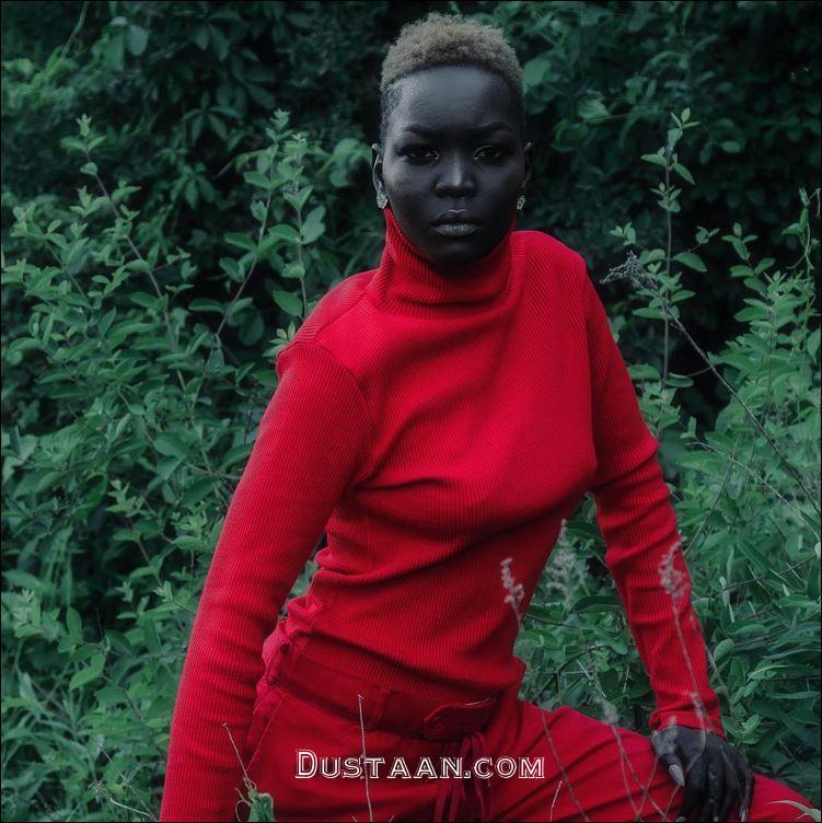 www.dustaan.com دختر بسیار زیبایی که به ملکه تاریکی معروف شده است! +تصاویر
