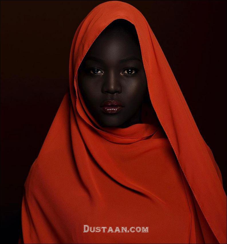 دختر بسیار زیبایی که به ملکه تاریکی معروف شده است! +تصاویر