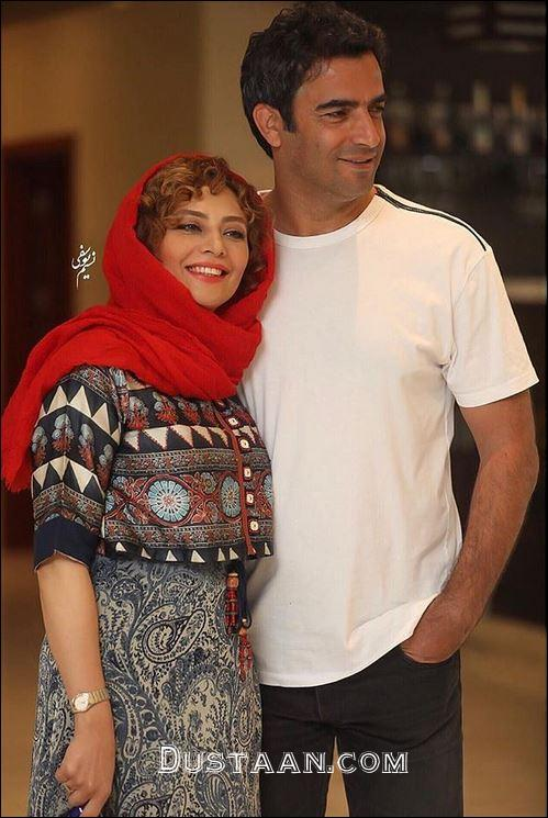 www.dustaan.com تیپ متفاوت یکتا ناصر و همسرش منوچهر هادی در کیش