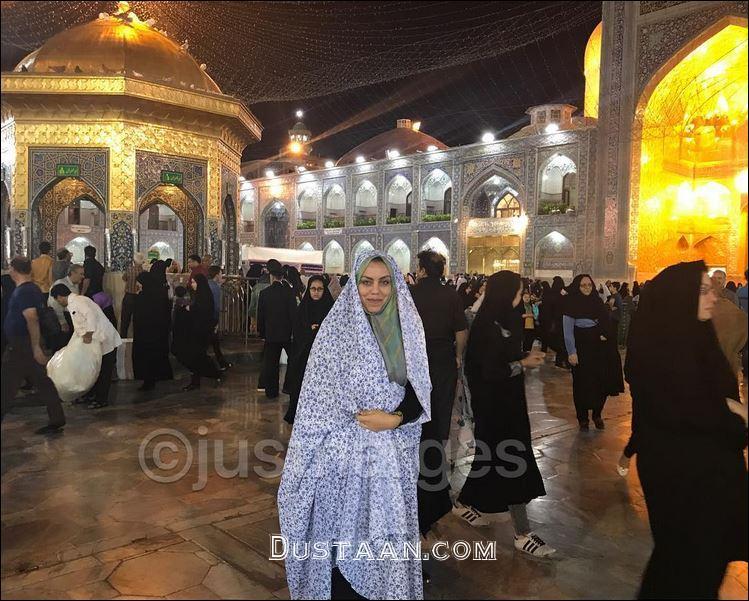 www.dustaan.com دلنوشته نرگس کلباسی بعد از زیارت مشهد