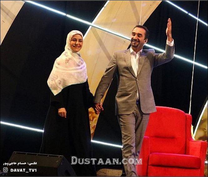 www.dustaan.com نیما کرمی دست در دست همسرش از عشق گفت!