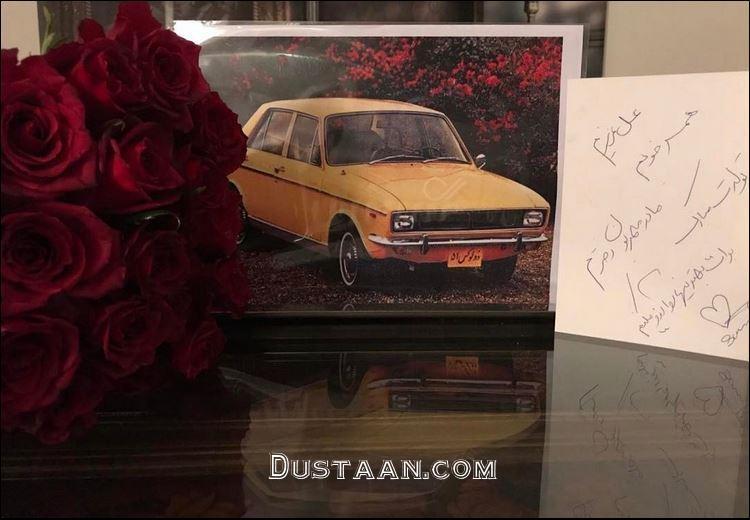 www.dustaan.com هدیه لاکچری سام درخشانی به همسرش!