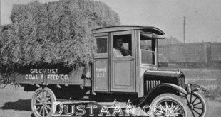 نخستین کامیون ساخت شرکت فورد +عکس