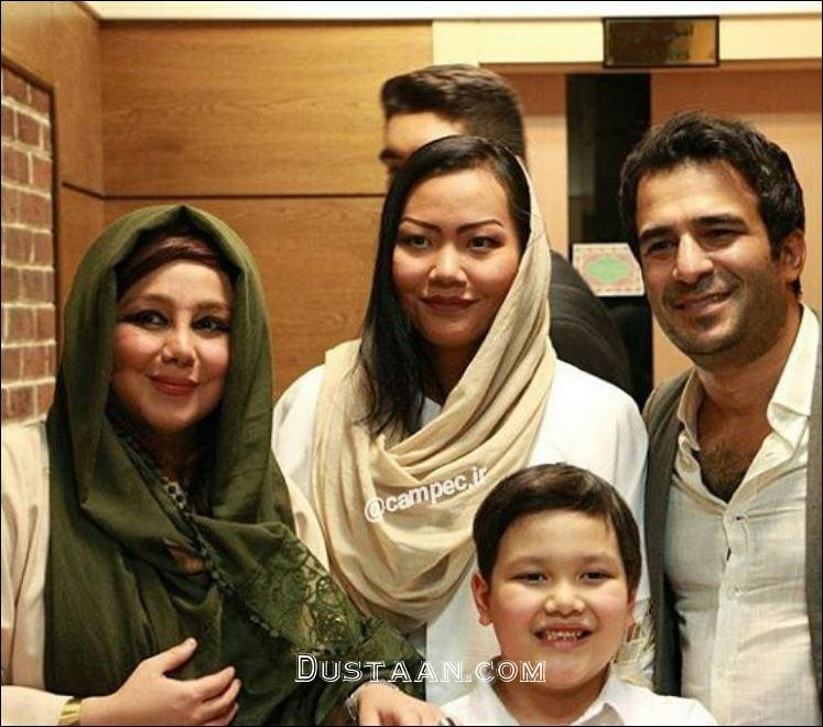 www.dustaan.com عکس های جدید یوسف تیموری و همسر تایلندی اش