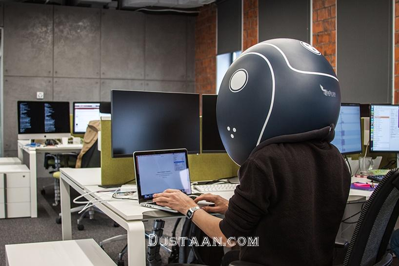 www.dustaan.com کلاهی مخصوص برای کار در محیط های شلوغ و پر سروصدا +تصاویر