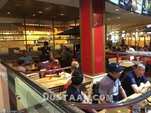 www.dustaan.com روش بسیار جالب یک رستوران برای تحویل غذای مشتریان! +تصاویر
