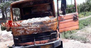 ورود با تراکتور به خانه مظنونین قتل