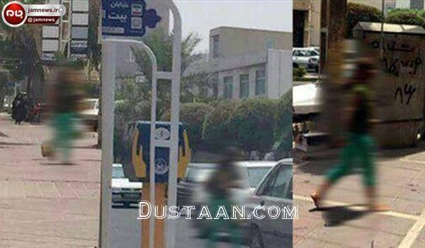 www.dustaan.com بازداشت زن بی حجاب در بوشهر +عکس