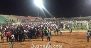 ریزش استادیوم 8 کشته برجای گذاشت +تصاویر