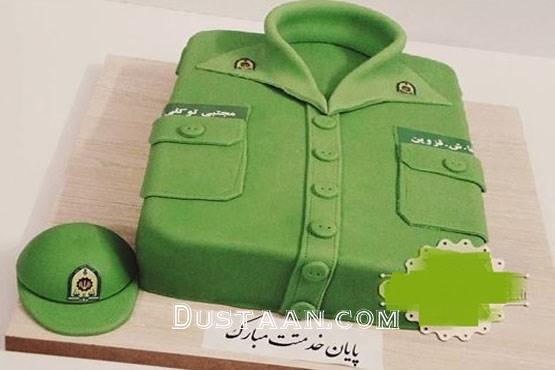 www.dustaan.com کیک پایان خدمت سربازی! +عکس