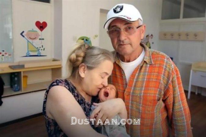 www.dustaan.com زن 60 ساله ای که پس از 20 سال تلاش، مادر شد! +تصاویر
