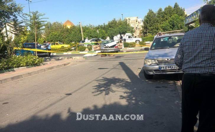 www.dustaan.com جزئیات تیراندازی امروز در میدان المپیک +عکس