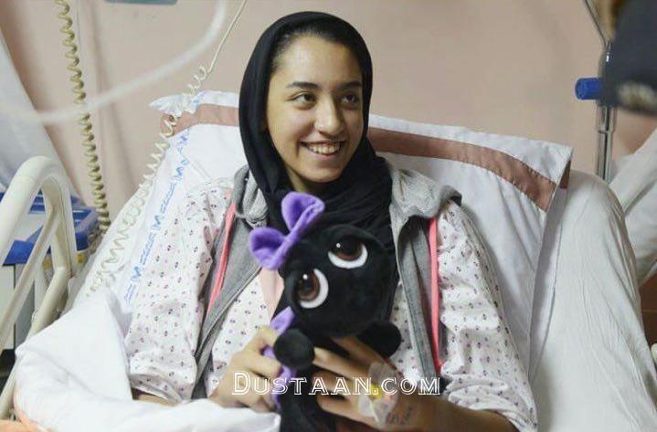 www.dustaan.com کیمیا علیزاده از بیمارستان مرخص شد