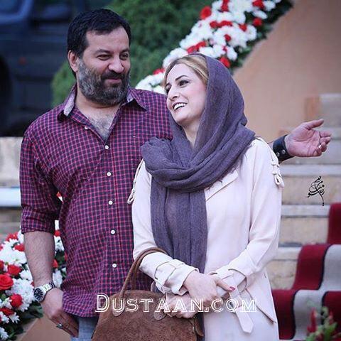 www.dustaan.com مهراب قاسمخانی و همسرش شقایق دهقان +عکس