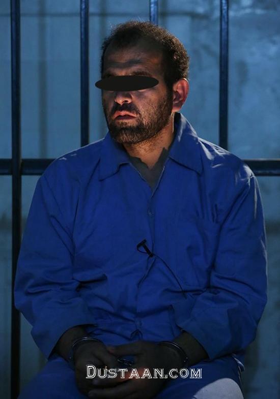 www.dustaan.com اسماعیل رنگرز قاتل بی رحم آتنا اصلانی در زندان +عکس