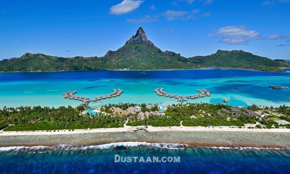 تصاویری بسیار زیبا از زیباترین جزیره دنیا
