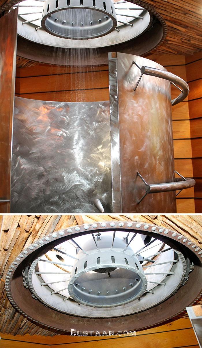 www.dustaan.com تصاویر: استفاده از قطعات هواپیما در دکوراسیون داخلی!