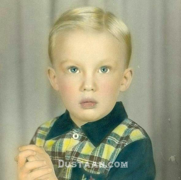 www.dustaan.com تصویری دیدنی از دونالد ترامپ در دوران کودکی!