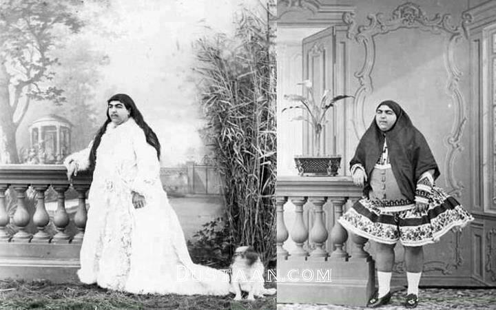 www.dustaan.com دختران اشرافی و باکلاس در دوران قاجار!