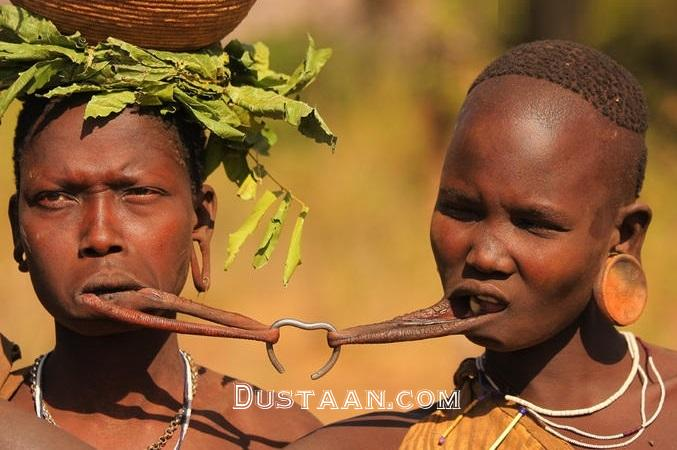 www.dustaan.com رسم وحشتناک ازدواج در یک روستای آفریقایی! +عکس