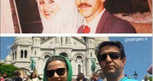 بیوگرافی و عکس های فلورا سام و همسرش مجید اوجی +علت فوت مجید اوجی