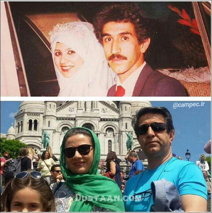 www.dustaan.com فلورا سام و همسرش مجید اوجی در گذر زمان!
