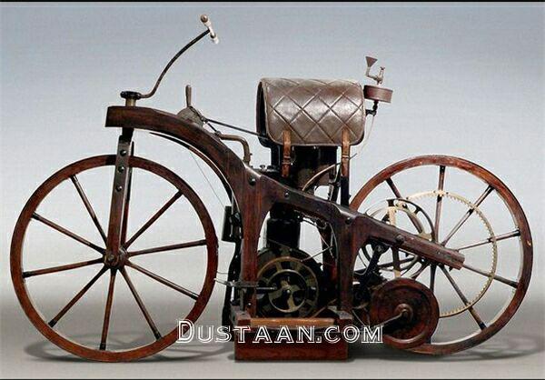 www.dustaan.com نخستین موتورسیکلت جهان را ببینید! +عکس