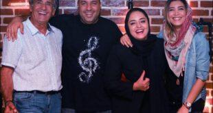 عکس های جدید مجید مظفری و دخترش، نیکی