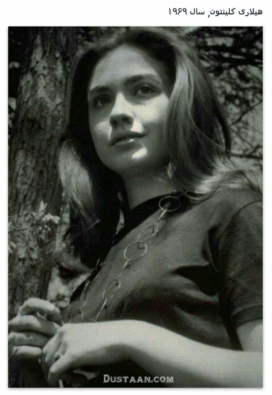 چهره دیدنی هیلاری کلینتون در دوران جوانی! +عکس