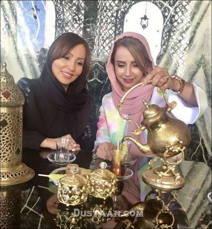 www.dustaan.com شبنم قلی خانی و پرستو صالحی در یک قاب