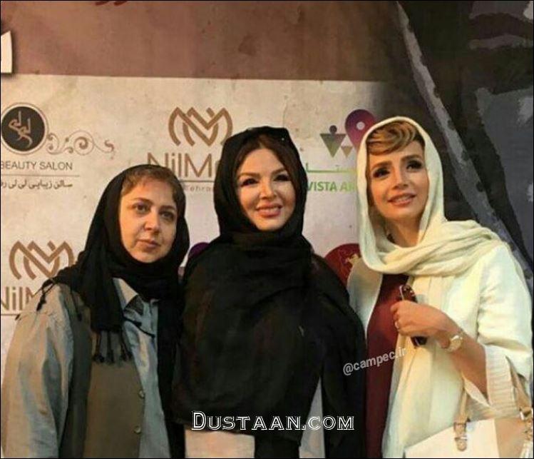www.dustaan.com تیپ متفاوت شبنم قلی خانی و شهره لرستانی در کنسرت سلطانی