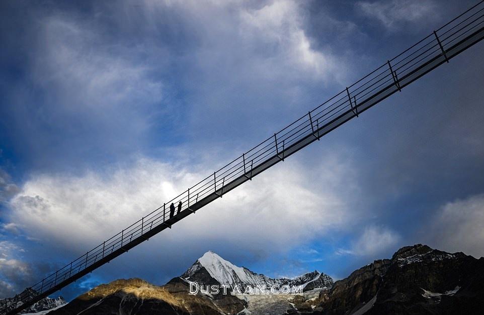 افتتاح طولانی ترین پل معلق جهان در سوئیس +عکس