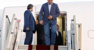لحظه ورود مهمانان خارجی مراسم تحلیف رئیس جمهور +تصاویر