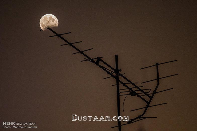 ماه گرفتگی در ایران +تصاویر