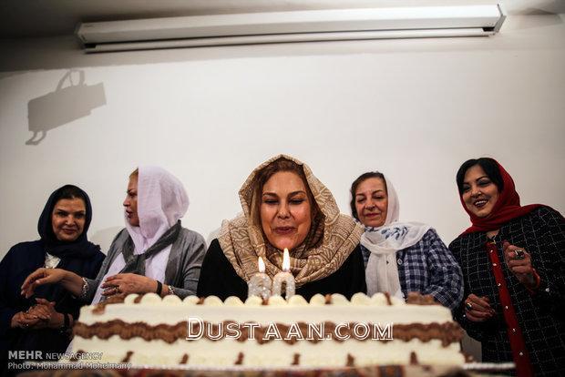 www.dustaan.com چهره جوان مهرانه مهین ترابی در جشن تولد 60 سالگی اش +عکس