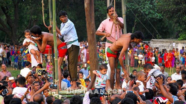 اخبارگوناگون ,خبرهای گوناگون  , مراسمی سنتی مردم هند