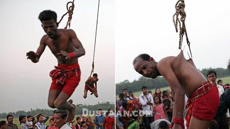 www.dustaan.com رسم وحشتناک هندی ها برای پاک شدن گناهانشان! +تصاویر