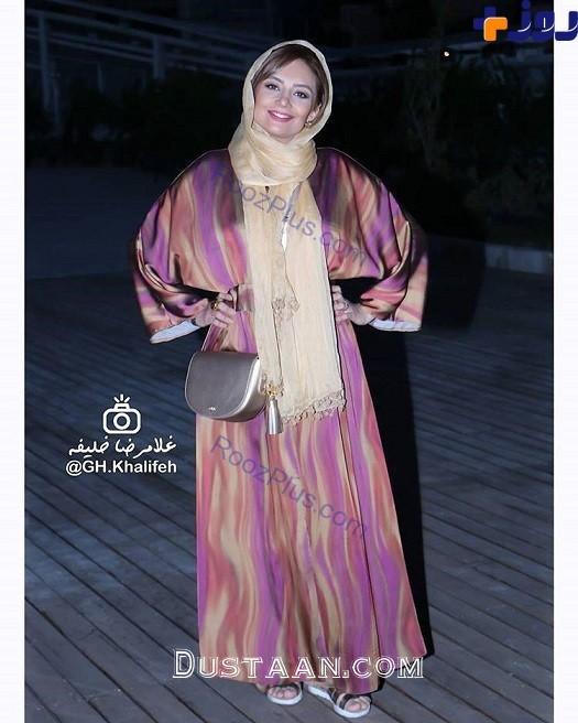 www.dustaan.com مانتوی عجیب و متفاوت یکتا ناصر +عکس