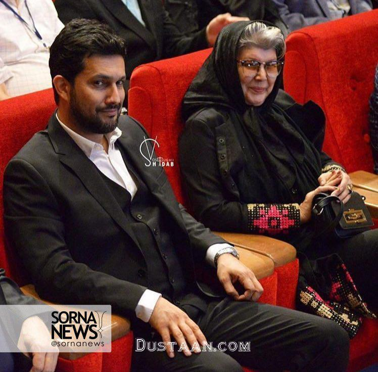 www.dustaan.com عکسی دیدنی از حامد بهداد و مادرش!