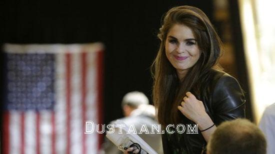 www.dustaan.com دلیل حضور مدل 28 ساله در دفترکار ترامپ چه بود؟ +عکس
