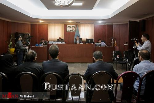 www.dustaan.com جلسه محاکمه قاتل آتنا اصلانی +تصاویر