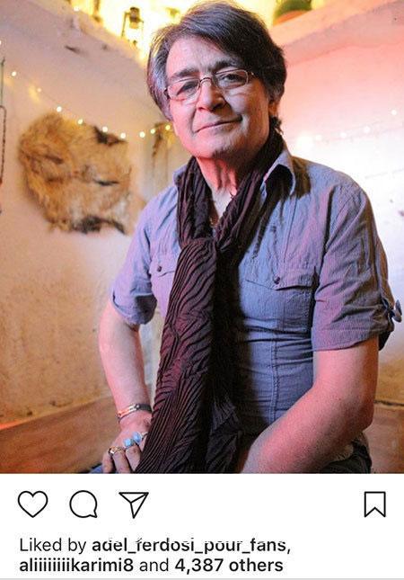 کپشن برای سربازی تصاویری جالب و دیدنی از بازیگران ایرانی در اینستاگرام «518»
