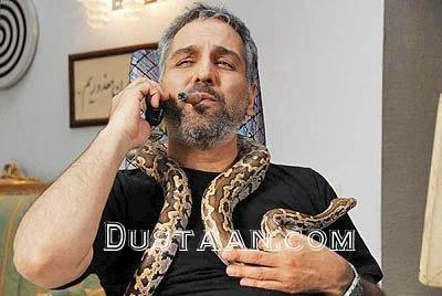 www.dustaan.com حیوان خانگی عجیب و غریب مهران مدیری! +عکس