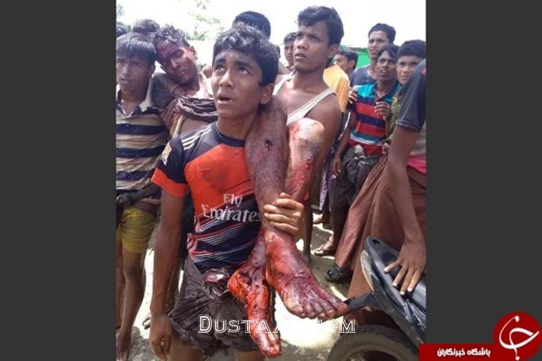 www.dustaan.com قتل عام 3 هزار مسلمان در میانمار +تصاویر