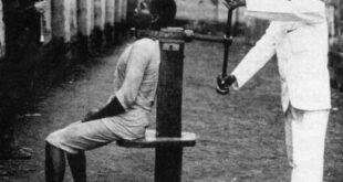 وسیله عجیب برای اعدام مجرمان در اسپانیا +عکس