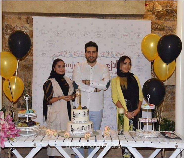 www.dustaan.com امید حاجیلی در جشن تولد 34 سالگی اش +عکس