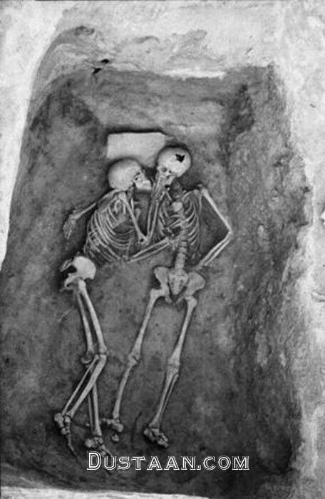 www.dustaan.com بوسه ۲۸۰۰ ساله در آذربایجان غربی! +عکس