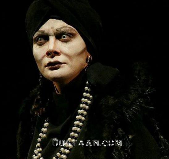 گریم متفاوت مارال فرجاد در نمایش جدیدش +عکس