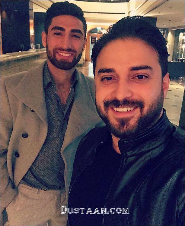 www.dustaan.com بابک جهانبخش و علیرضا جهانبخش در یک قاب!